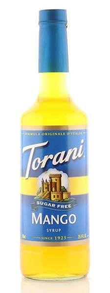 Torani Sirup Mango zuckerfrei 750ml Flasche